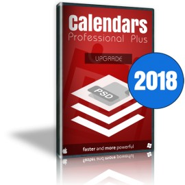 Calendars Plus 2018 Upgrade Win-Mac