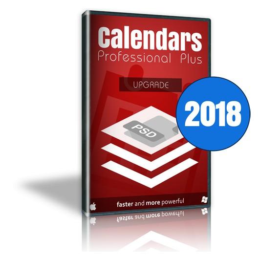 Calendars Plus 2018 Upgrade Win-Mac