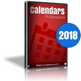 Calendars Pro 2018 Full Win-Mac