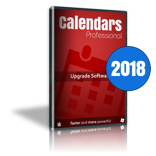 Calendars Pro 2018 Win-Mac Upgrade