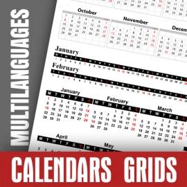 Griglie Calendari 2018