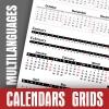 Calendar Data Grids 2018