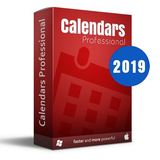 Calendars Pro 2019 Full Win-Mac