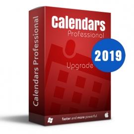 Calendars Pro 2019 Win-Mac Upgrade