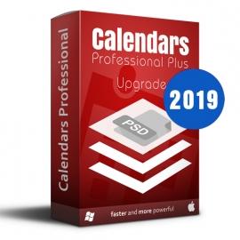 Calendars Plus 2019 Upgrade Win-Mac