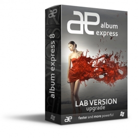 Album Express 8 Win-Mac LAB (Desktop designer) Upgrade