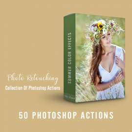 Summer Color Effects - Photoshop Action