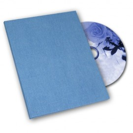 Light blue Canvas DVD Box