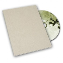 Beige Canvas DVD Box