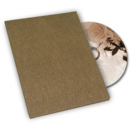 Brown Canvas DVD Box