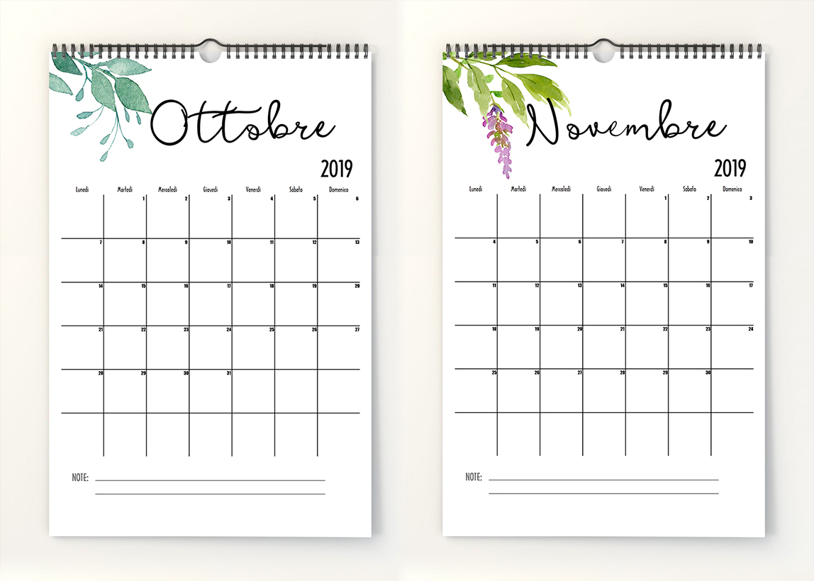 Monthly Calendar n4