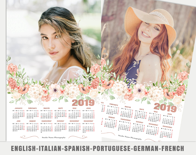 Floral Calendar 004