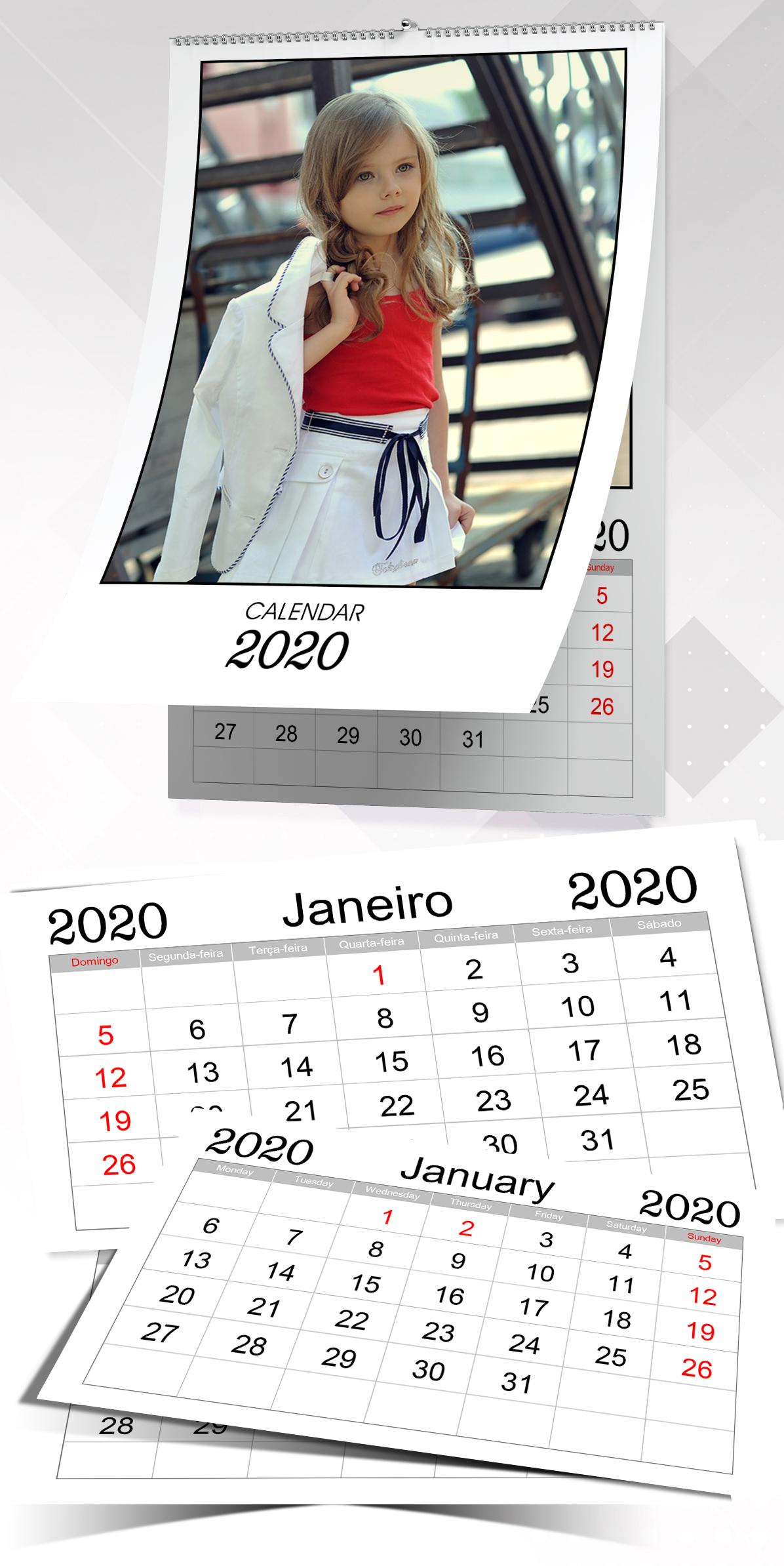 Monthly Calendar 002